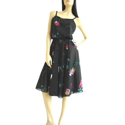 Vintage 1970's Floral Studio 54 Dress