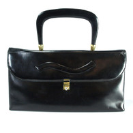 Black Kidskin Purse