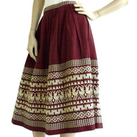 1950s Embroidered Skirt