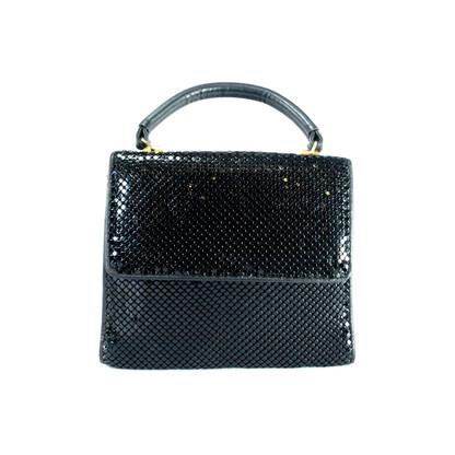 Whiting & Davis Black Mesh Handbag