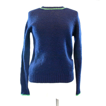 1960s Navy Wool Sweater