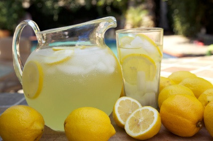 Homemade Lemonade by go lb. salt ® - blog.golbsalt.com