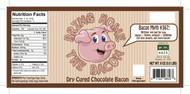 Bring Home The Bacon - Dry Cured Chocolate Bacon by go lb. salt ® - store.golbsalt.com