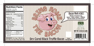 Bring Home The Bacon - Black Truffle Dry Cured Bacon by go lb. salt ® - store.golbsalt.com