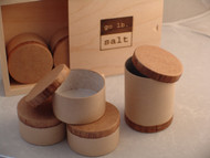 Temporary Salt Cellars (small & large) w/ Gift Box by go lb. salt ® - store.golbsalt.com