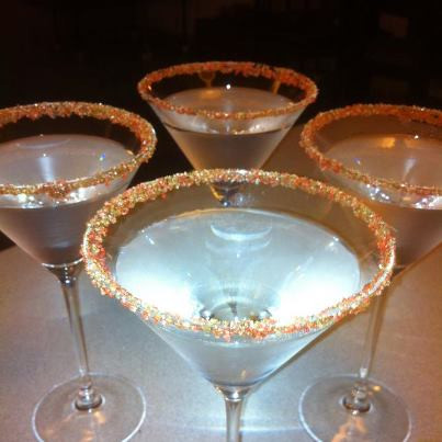 rim·licks™ - Organic Candy Cane Martini Cocktail & rimmer by go lb. salt ® - store.golbsalt.com