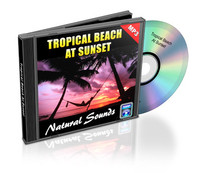 Tropical Beach at Sunset Soundtrack