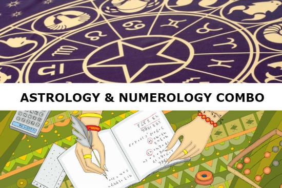Astrology & Numerology Combo