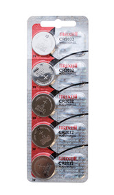 Maxell CR-2032 Lithium  'coin cell' 3V Battery BAT-MCR2032 (6504)
