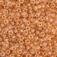 Miyuki Round Seed Bead Size 11/0 Crystal Sparkled Metallic Gold Lined SB 0234 (51453)