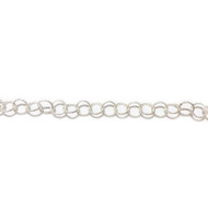 Sterling Silver Chain Round Twisted 5.3mm - per foot (23984)