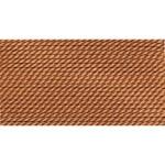 Griffin Silk Thread Carnelian Size 2 0.45mm 2 meter card