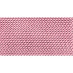 Griffin Silk Thread Dark Pink Size 1 0.35mm 2 meter card (21730)