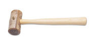 "Eurotool Size 2 Rawhide Mallet 1-1/2"" Face HAM-422.00 (19760)"