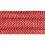 Griffin Silk Thread Coral Size 6 0.70mm 2 meter card