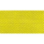Griffin Silk Thread Yellow Size 6 0.70mm 2 meter card