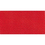 Griffin Silk Thread Red Size 8 0.80mm 2 meter card (21829)