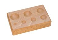 Eurotool Hardwood Dapping Block - Round DAP-155.00 (25761)