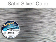 Soft Flex Beading Wire Clear Fine .014 Dia. 21 Strand 30  foot spool - each (6830)