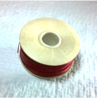 Nymo Thread Shoe Red Size D 0.30mm 64 yard spool 124F-002