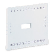 KUMIHIMO DISK PLATE - SQUARE FLAT BRAID 14.2cm-5.5in HOLE (36705)