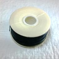 Nymo Thread Black Size F 0.35mm 43 yard spool 126T-002