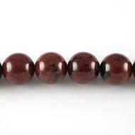 Mahogany Obsidian 10mm Round Bead - by the strand (24467)