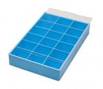 Eurotool Acrylic Storage Box with 18 Compartment Trays PKG-315.00 (25603)