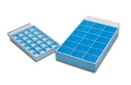 Eurotool Acrylic Storage Box with 24 Compartment Trays PKG-314.00 (25612)
