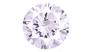 Cubic Zirconia Lavender Round Brilliant Cut 6mm