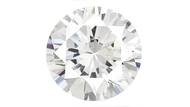 Cubic Zirconia White Round Brilliant Cut 8mm