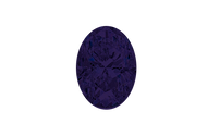 Cubic Zirconia Tanzanite Oval Faceted 7x5mm