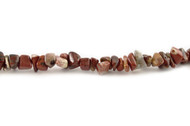 "Brecciated Jasper Bead Chips 16"" -  by the strand"