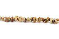 "Landscape Jasper Bead Chips 16"" - by the strand"