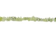"Prehnite Bead Chips 16"" - by the strand"