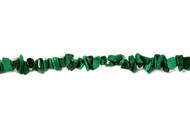 "Malachite Bead Chips 16"" -  by the strand"