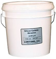 Lortone Silicone Carbide Grit 60/90 Mesh Coarse Rotary Tumbling Medium – 5 lb 591-057