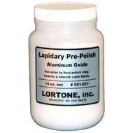 Lortone Aluminum Oxide Pre-Polish Rotary Tumbling Medium – 14 oz. 591-021
