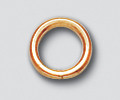 4mm 20ga Closed Jump Ring Gold Filled - 100 pcs (23159)