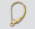 Gold-Filled 16.5x9.5mm Lever Back Ear Wire Non-Interchangeable - 10 pcs / 5 pairs (47605)