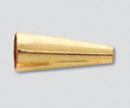 Gold Filled Cone16.5x6mm - 10 pieces (22337)