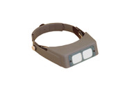 Optivisor DA-10 Binocular Headband Magnifier with lens plate - each (7055)