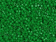 Miyuki Delica Seed Bead size 11/0 Green Kelly Dyed DB 0655 (56055)