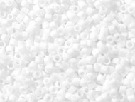 Miyuki Delica Seed Bead size 11/0 White Matte DB 0351