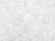 Miyuki Delica Seed Bead size 11/0 Crystal Transparent DB 0141