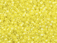 Miyuki Delica Seed Bead size 11/0 Yellow AB DB 0160 (56019)