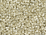 Miyuki Delica Seed Bead size 11/0  Silver Galvanized DB 0035