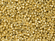 Miyuki Delica Seed Bead size 11/0 Gold Galvanized Duracoat DB 1832