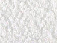 Miyuki Delica Seed Bead size 11/0 White Pearl AB DB 0202
