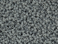 Miyuki Delica Seed Bead size 11/0 Grey Ghost Matte Opaque DB 1139
